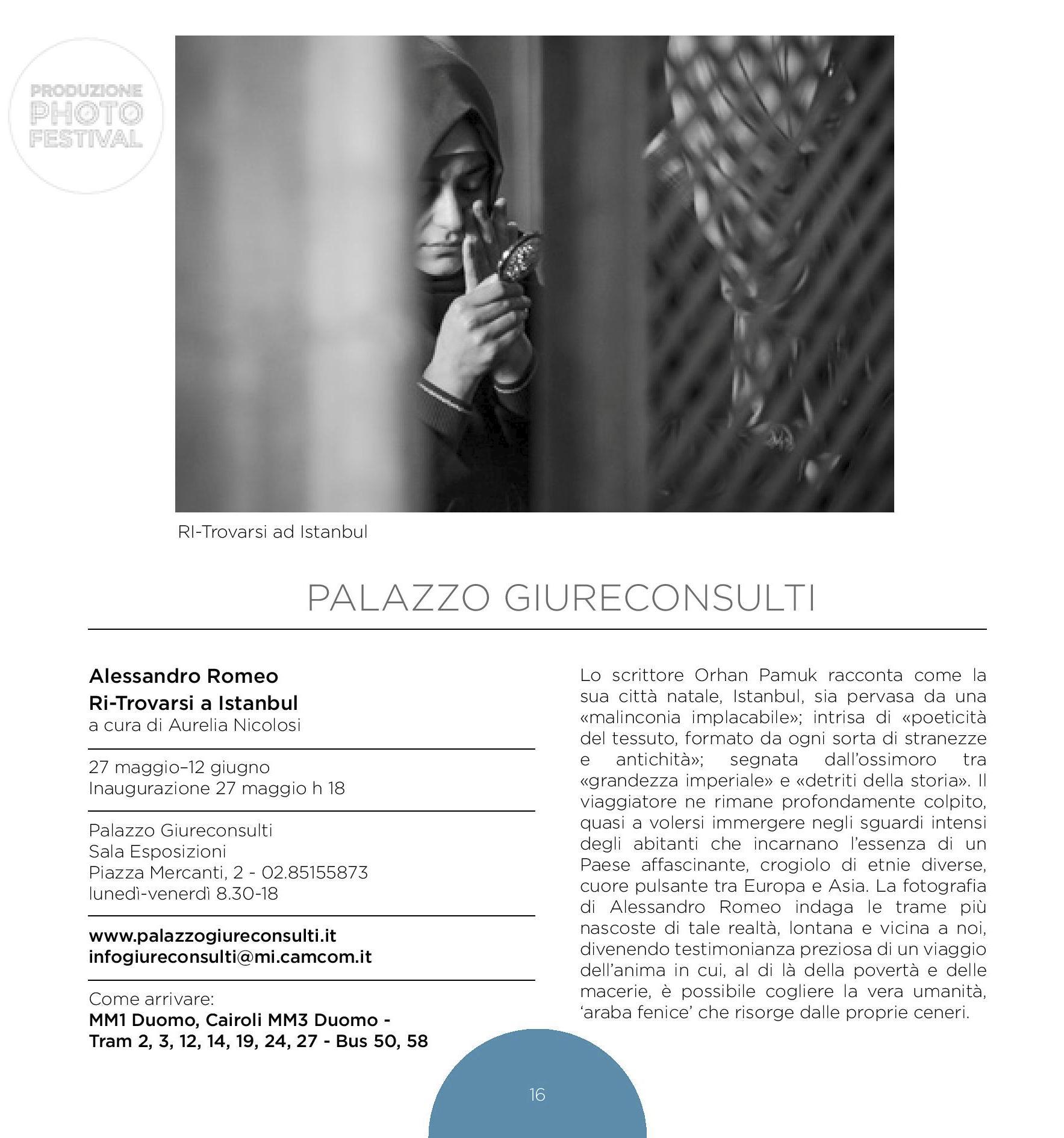 Ritrovarsi a Istanbul | Photofestival 2014 | Milano